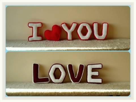 Häkelanleitung 3D Buchstaben Valentinstag Sparpaket  bei Makerist sofort runterladen