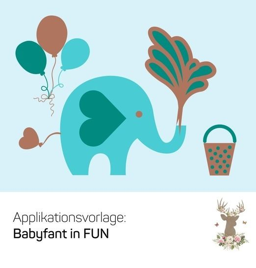 "Applikation ""Babyfant in FUN"" - Nähanleitungen bei Makerist sofort runterladen"