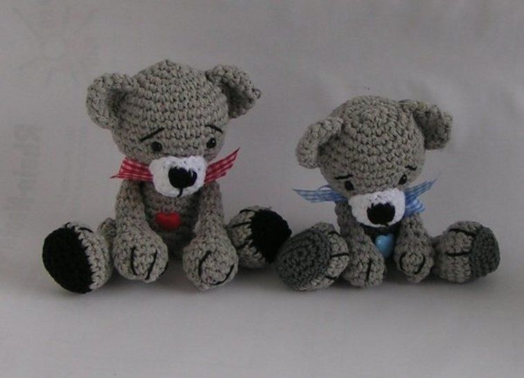 Download Bears Babsi and Bert crochet pattern - Crochet Patterns immediately at Makerist