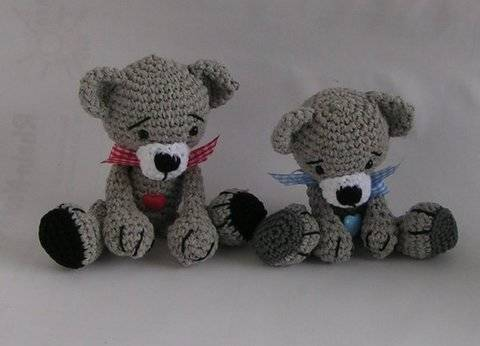 Download Bears Babsi and Bert crochet pattern immediately at Makerist