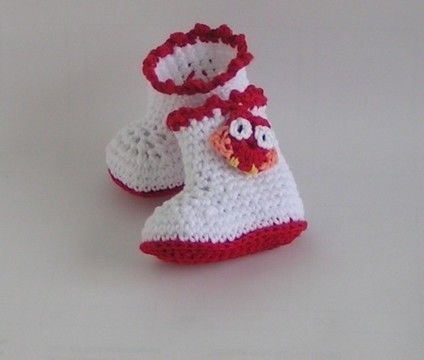 Download Baby shoes boots crochet pattern - Crochet Patterns immediately at Makerist