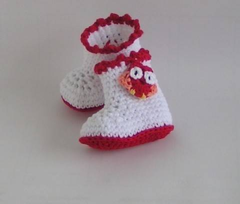 Download Baby shoes boots crochet pattern immediately at Makerist