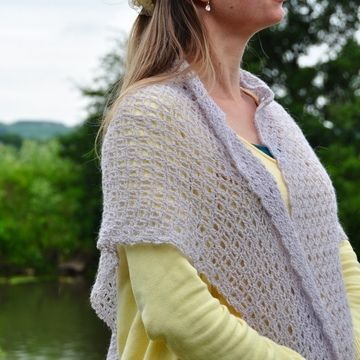 Download The Serenity Shawl - Crochet Pattern - Crochet Patterns immediately at Makerist