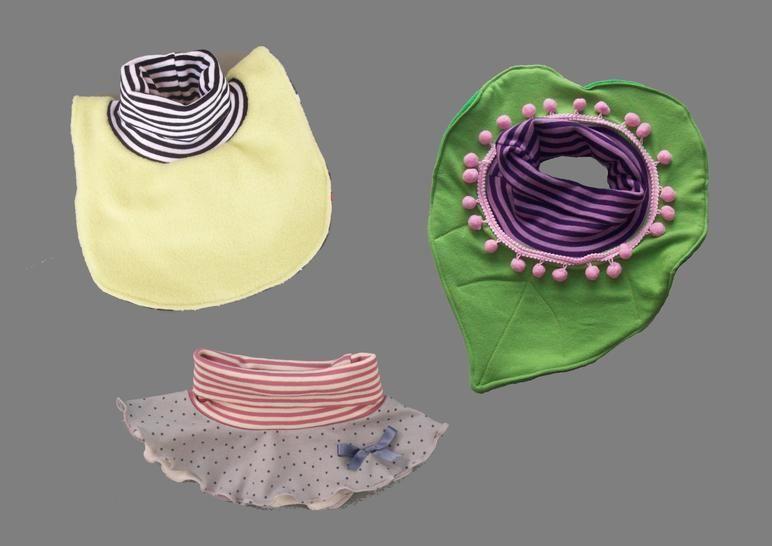 Nähanleitung E-Book Schal Kragen Loop zum Wenden Varianten - Nähanleitungen bei Makerist sofort runterladen