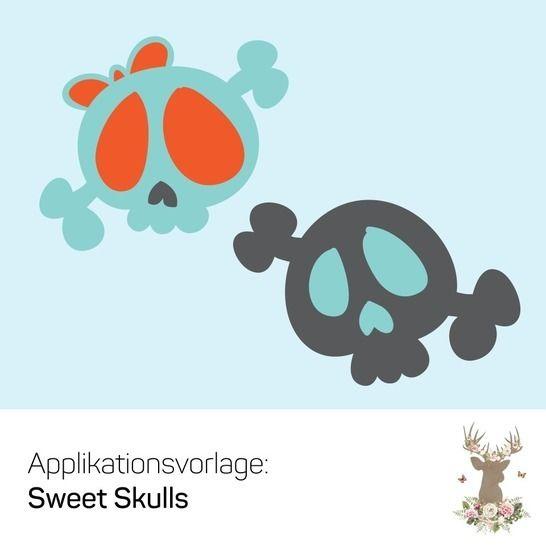"""Applikation """"SweetSkulls"""" - Nähanleitungen bei Makerist sofort runterladen"""