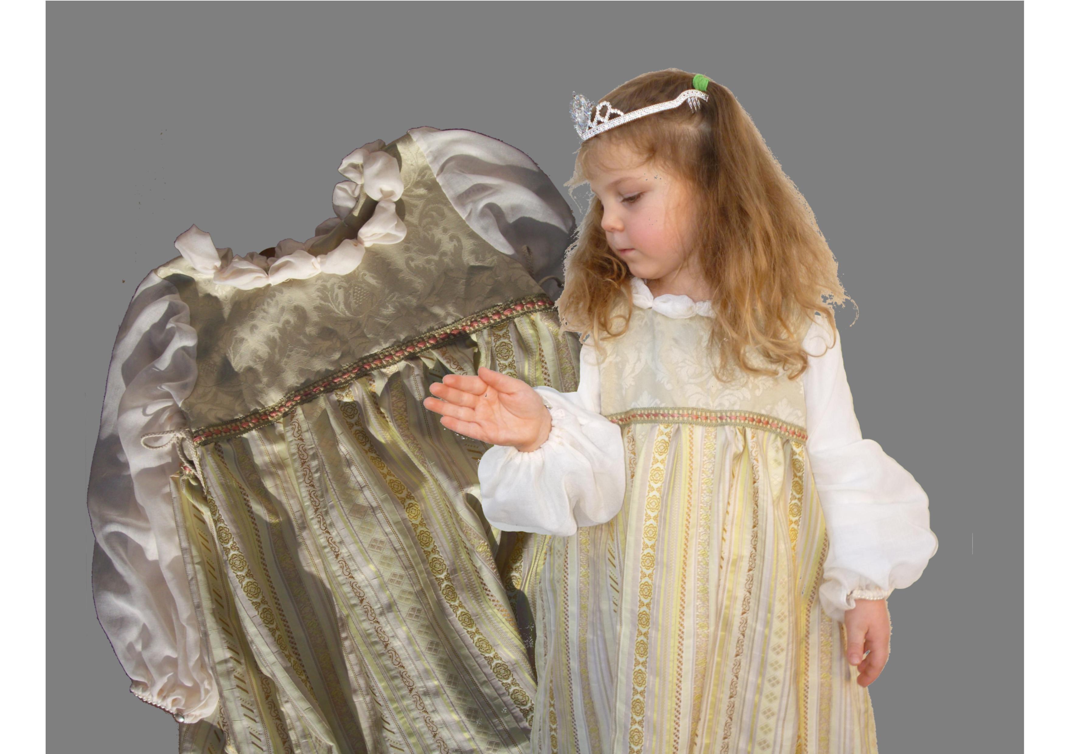 Prinzessin kleid nahen schnittmuster