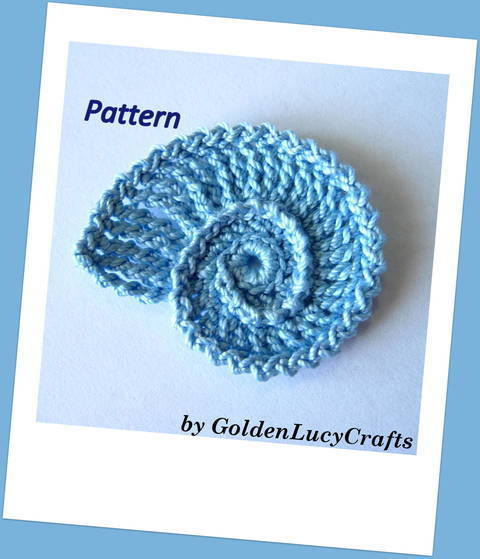 Download Seashell Crochet Pattern immediately at Makerist