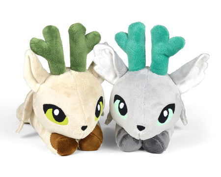 Download Peryton Winged Deer Stag Plush Toy Sewing Pattern - Sewing Patterns immediately at Makerist