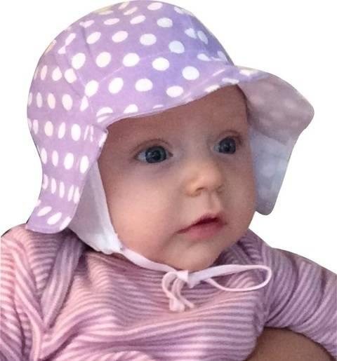 Mini-Blütenhut mit Ohrenbedeckung Gr. 34 bis 52 Schnittmuster und Nähanleitung bei Makerist sofort runterladen