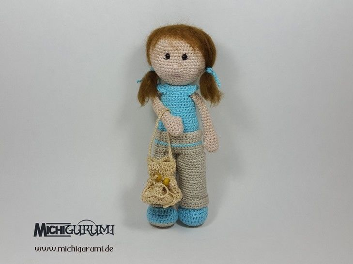 Häkelanleitung: Puppe Samantha - Häkelanleitungen bei Makerist sofort runterladen
