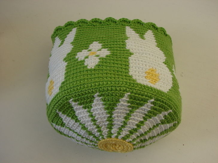 Download Easter egg basket bunny - Crochet pattern - Crochet Patterns immediately at Makerist