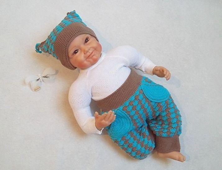 Häkelanleitung Babyset Seasons Gr. 50-80 - Häkelanleitungen bei Makerist sofort runterladen
