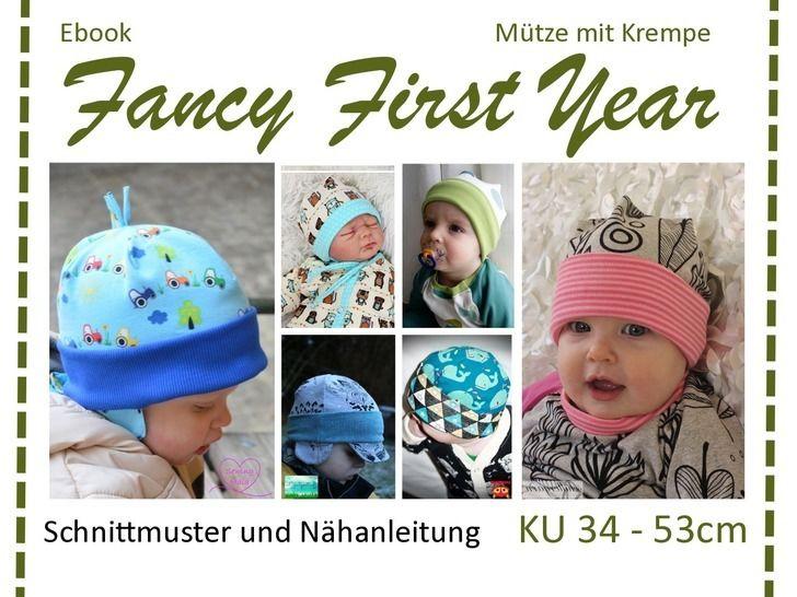 Ebook Mütze mit Krempe - FancyFirstYear Kollektion - Nähanleitungen bei Makerist sofort runterladen