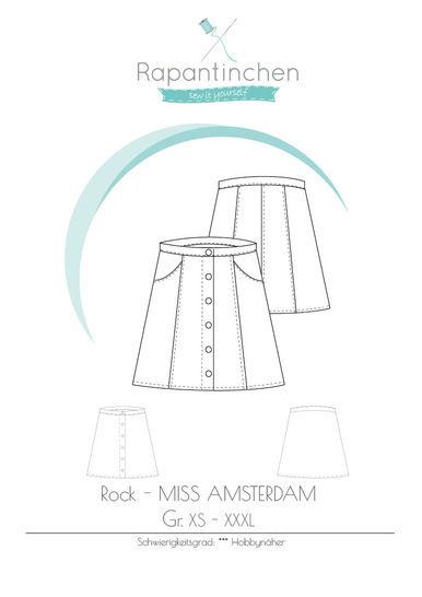 Knopfrock MISS AMSTERDAM - Nähanleitungen bei Makerist sofort runterladen