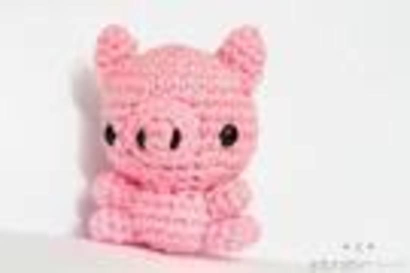 Download Mini Pig Amigurumi Crochet Pattern - Crochet Patterns immediately at Makerist