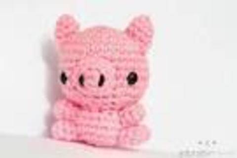 Download Mini Pig Amigurumi Crochet Pattern immediately at Makerist