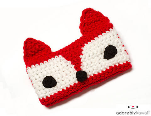 Download Red Fox Phone Cozy Crochet Pattern immediately at Makerist