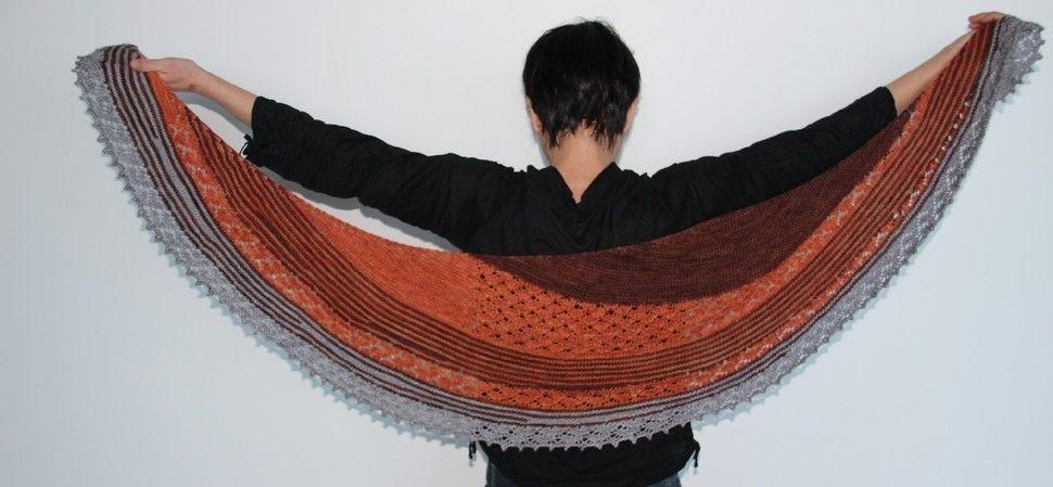 Capucine shawl (en) - Strickanleitungen bei Makerist sofort runterladen