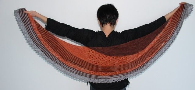 Download Capucine shawl  - Knitting Patterns immediately at Makerist