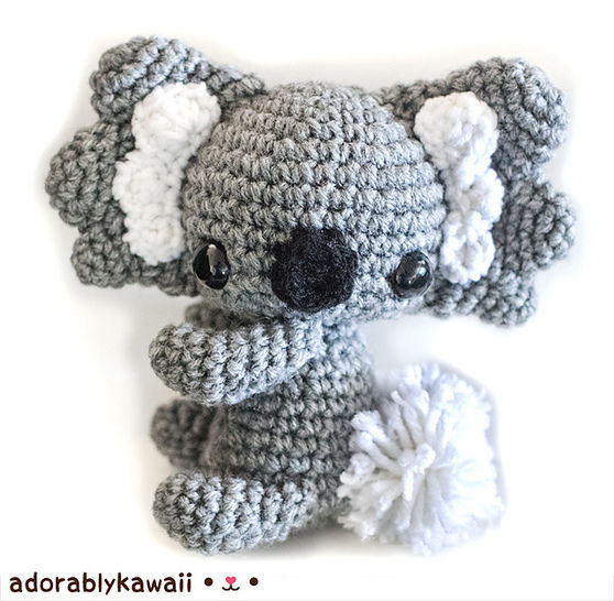 Download Koala Amigurumi Crochet Pattern - Crochet Patterns immediately at Makerist