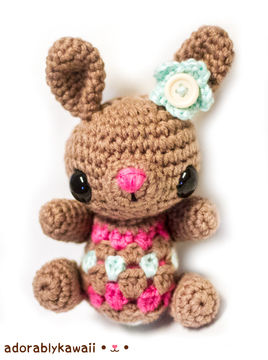 Download Cute Little Bunny Amigurumi Crochet Pattern - Crochet Patterns immediately at Makerist