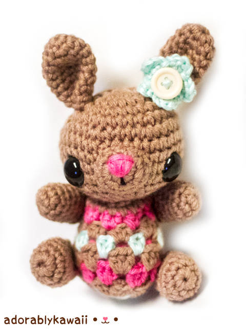 Download Cute Little Bunny Amigurumi Crochet Pattern immediately at Makerist