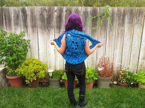 Download Flower Pixie Vest Pattern immediately at Makerist