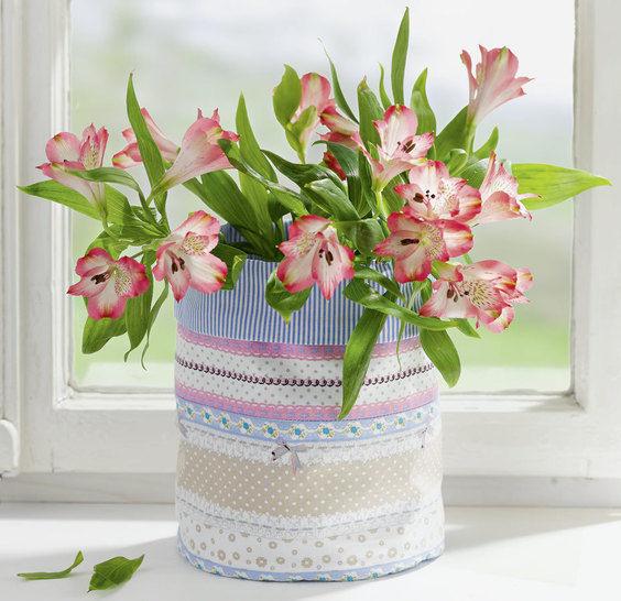 Blumentopfhusse zum Wenden Nähanleitung - Nähanleitungen bei Makerist sofort runterladen