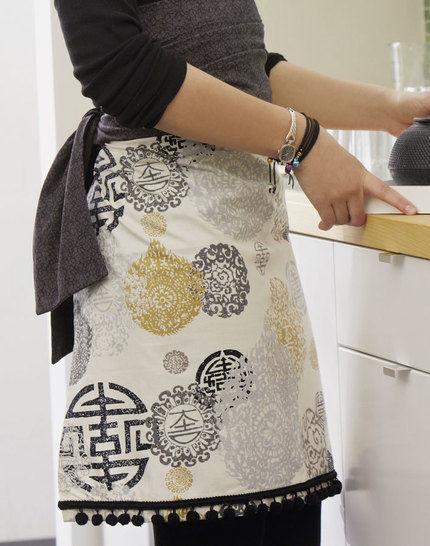 Küchenschürzen im Asia-Look Nähanleitung - Nähanleitungen bei Makerist sofort runterladen