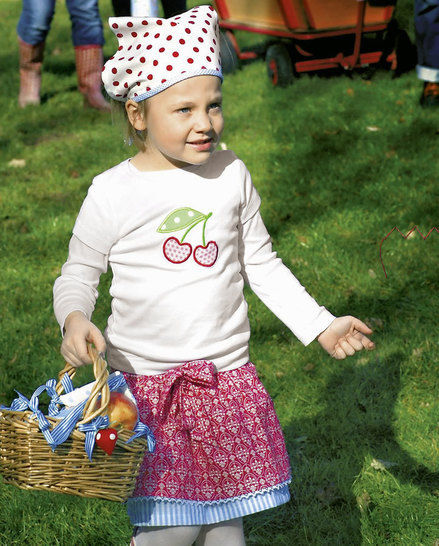 Mädchen-Outfit für den Sommer Nähanleitung - Nähanleitungen bei Makerist sofort runterladen