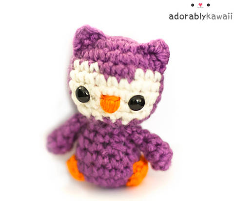 Download Tiny Owl Amigurumi Crochet Pattern immediately at Makerist