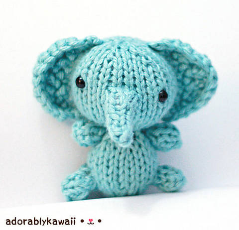 Download Knit Baby Elephant Amigurumi Pattern immediately at Makerist