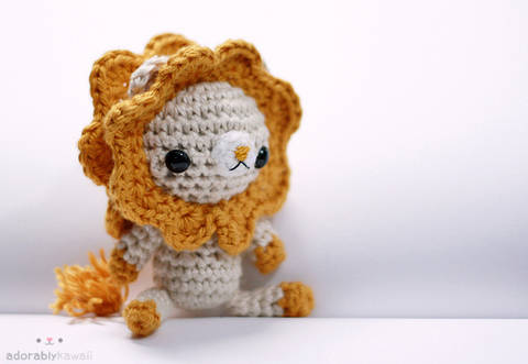 Download Lion Amigurumi Crochet Pattern immediately at Makerist