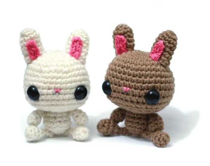Download Bunny Rabbit Amigurumi Crochet Pattern - Crochet Patterns immediately at Makerist