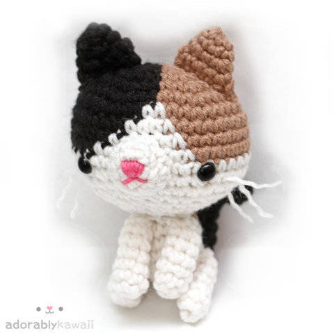 Download Calico Cat Amigurumi Crochet Pattern immediately at Makerist