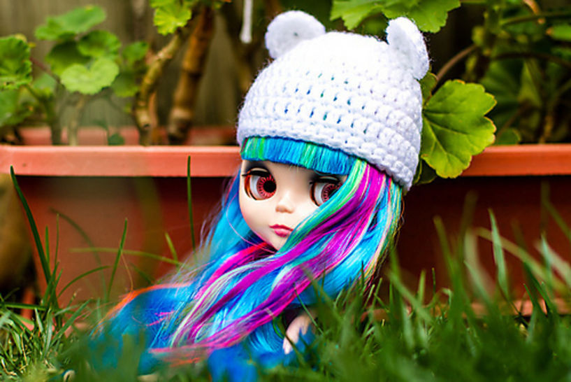 Download Blythe Bear Hat Basic Crochet Pattern - Crochet Patterns immediately at Makerist