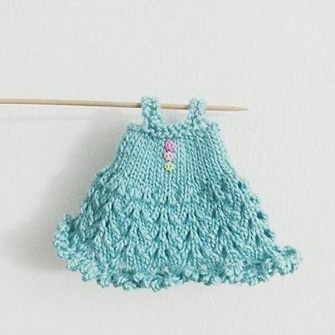 Download Blythe Knitted Lace Dress Pattern immediately at Makerist
