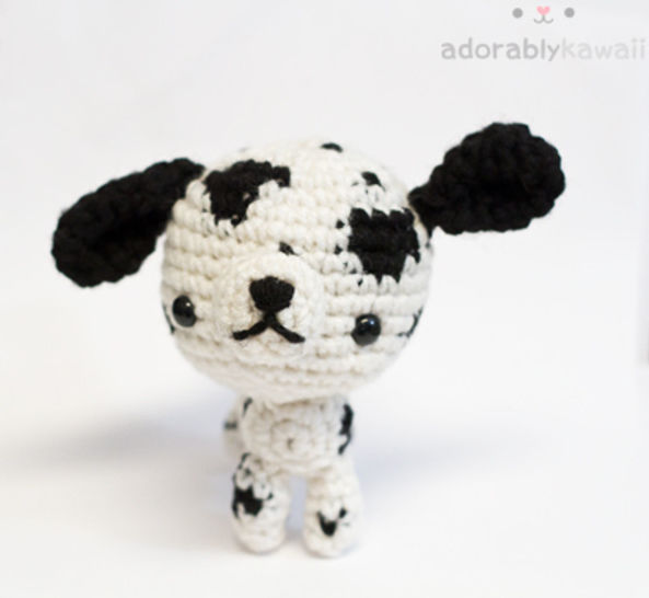 Download Dalmatian Dog Amigurumi Crochet Pattern - Crochet Patterns immediately at Makerist