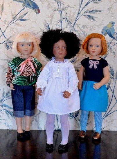 """Télécharger """" Blouse'n robe"""" Patron pour poupée de 40 cm à 50 cm  type Starlette de Petitcollin, Vidal Rojas, et Finouche de Petitcollin - Patrons de couture tout de suite sur Makerist"""
