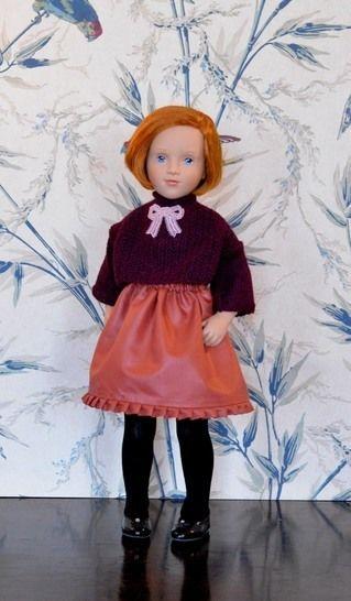 """Télécharger """"Figue et épices"""" patron de vêtements pour poupée de 40 cm - 50 cm - Modèles de tricot tout de suite sur Makerist"""