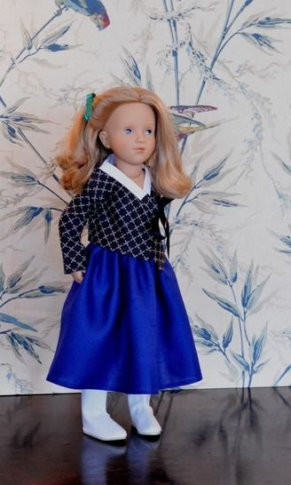 """Télécharger """"Mon Hanbok"""" Patron pour poupée de 40 cm à 50 cm type Starlette et Finouche de Petitcollin, et vidal Rojas - Patrons de couture tout de suite sur Makerist"""