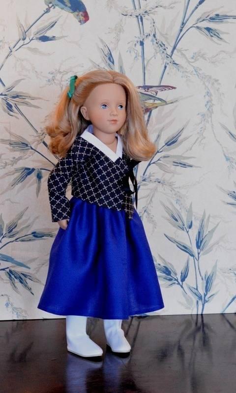 """Télécharger """"Mon Hanbok"""" Patron pour poupée de 40 cm à 50 cm type Starlette et Finouche de Petitcollin, et vidal Rojas tout de suite sur Makerist"""
