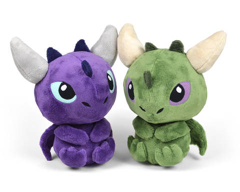 Download Dragon Plush Toy Sewing Pattern immediately at Makerist