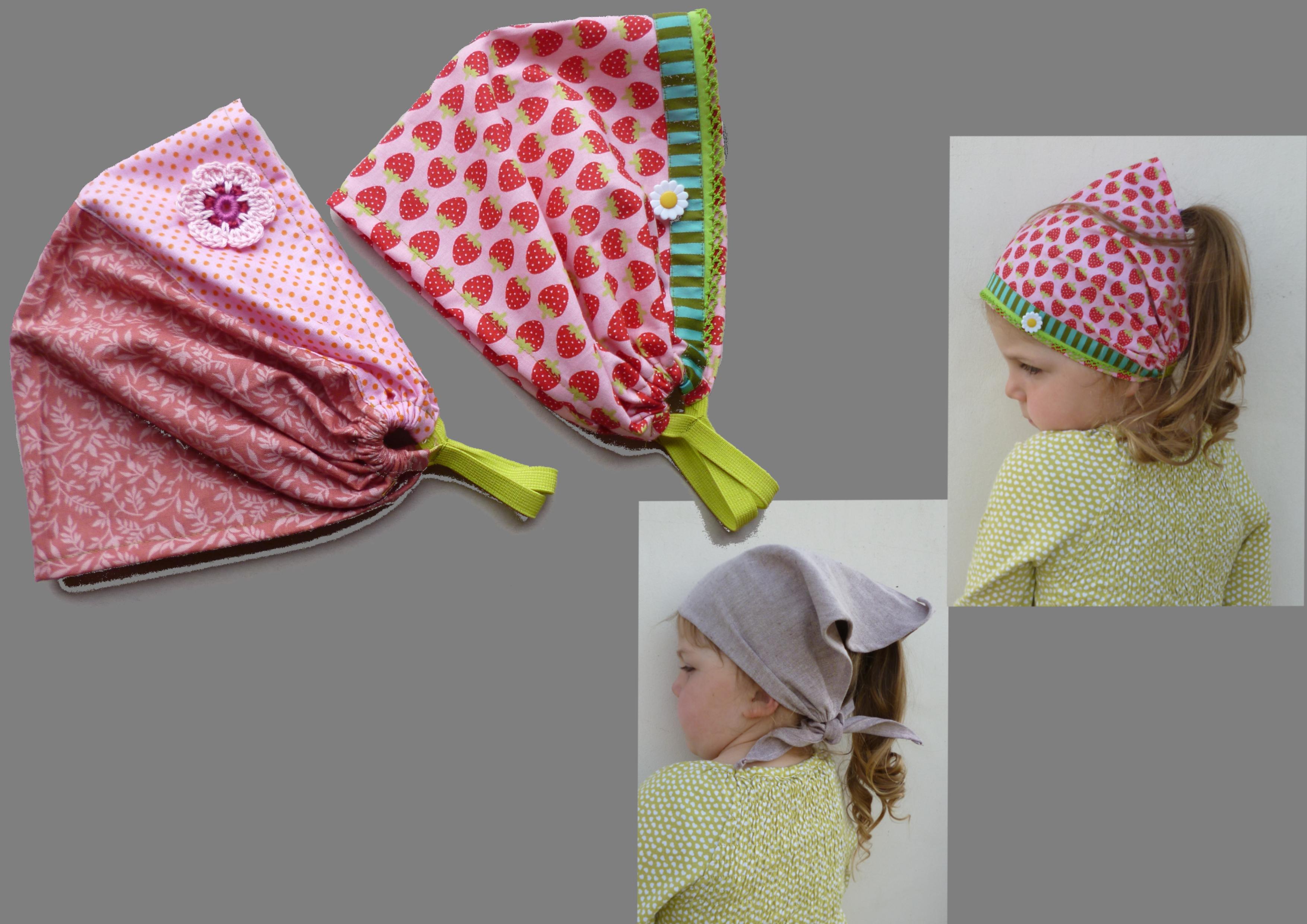 Bandana Kopftuch schnell und einfach in 2 Varianten