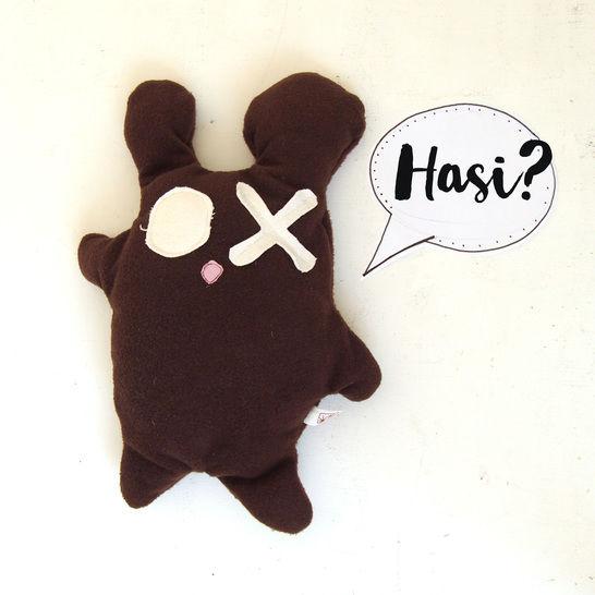 MONSTI oder doch Hasi,Schnittmuster für einen Monsterfreund, Monster, Kuschelmonster - Nähanleitungen bei Makerist sofort runterladen