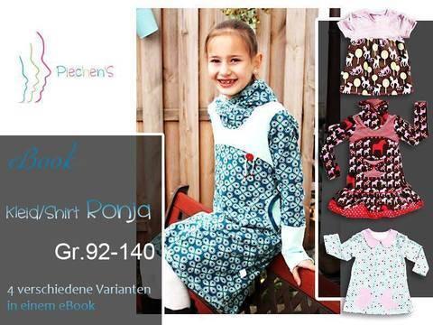 Kleid/Shirt Ronja - Nähanleitung und Schnittmuster bei Makerist sofort runterladen
