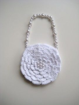 Download Crochet bag, Rose bag, Pattern No15, in both UK and US crochet terms - Crochet Patterns immediately at Makerist