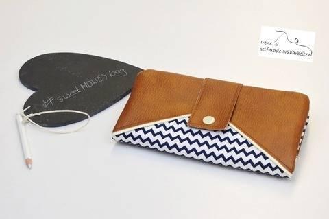 Geldtasche #sweetMONEYbag Nähanleitung & Schnittmuster bei Makerist sofort runterladen