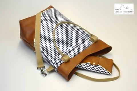 Kombiebook Geldtasche #sweetMONEYbag & Shopper #sweetBIGbag bei Makerist sofort runterladen