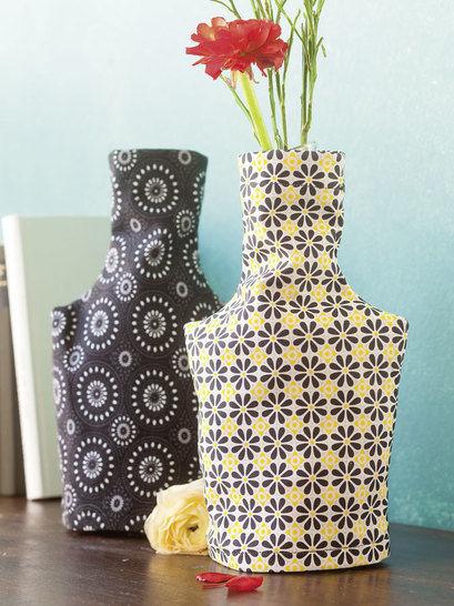 Vasen mit Lieblingsmuster Nähanleitung mit Schnittmuster - Nähanleitungen bei Makerist sofort runterladen